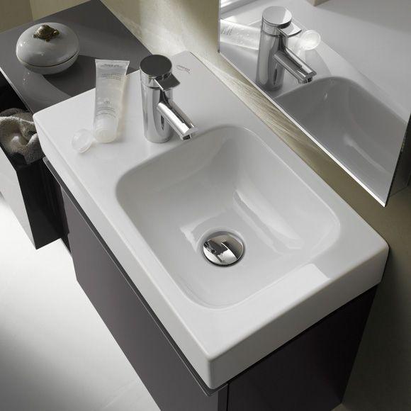 Keramag iCon xs Handwaschbecken weiß mit KeraTect Badezimmer