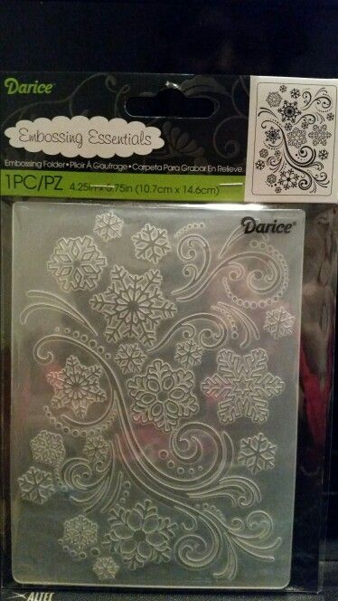 4.25 x 5.75 Darice Embossing Folder Notebook