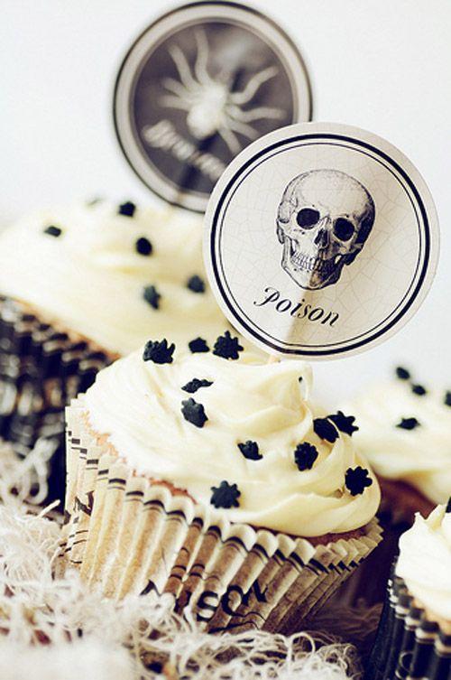 Martha Stewart Cupcake Picks Halloween Idea Michales Halloween