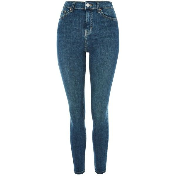 6cb6017e7ae Topshop Moto Authentic Jamie Jeans (3.140 RUB) ❤ liked on Polyvore  featuring jeans