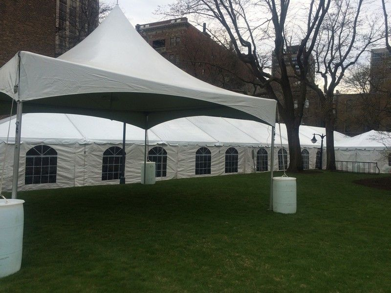 Tentlogy white tent with sidewalls and windows from House of Rental. Party events tent & Tentlogy white tent with sidewalls and windows from House of ...