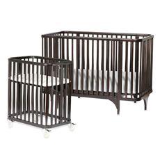 Best Argington® Bam Collection™ Bassinet Crib Set Ebony 400 x 300