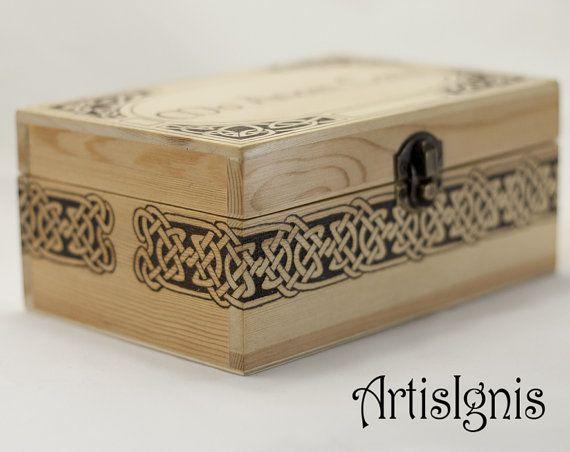 Mo Anam Cara Celtic Jewelry Box Trinket box Treasure by ArtisIgnis