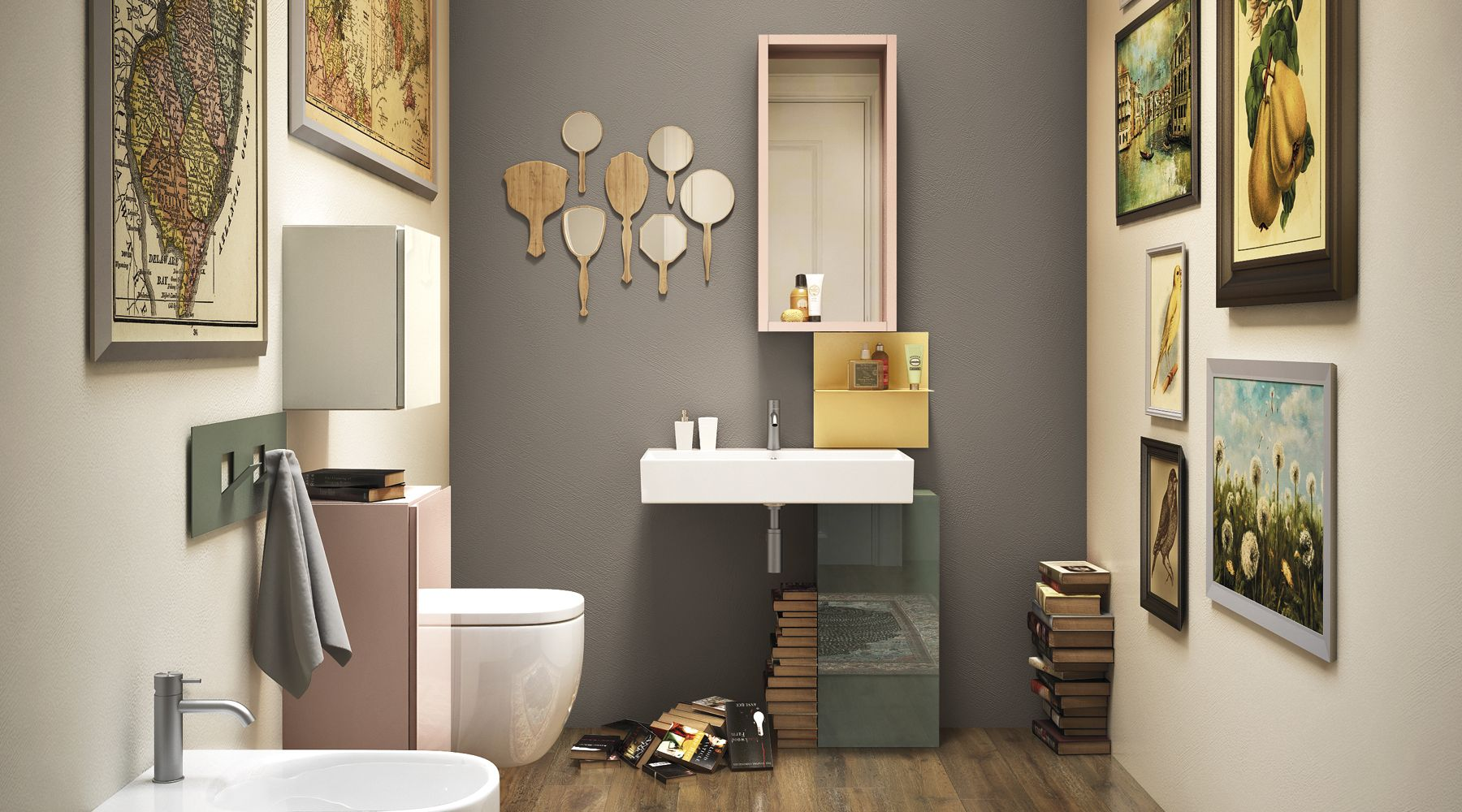 Basica Basin Bathroom Interiordesign Furniture Home
