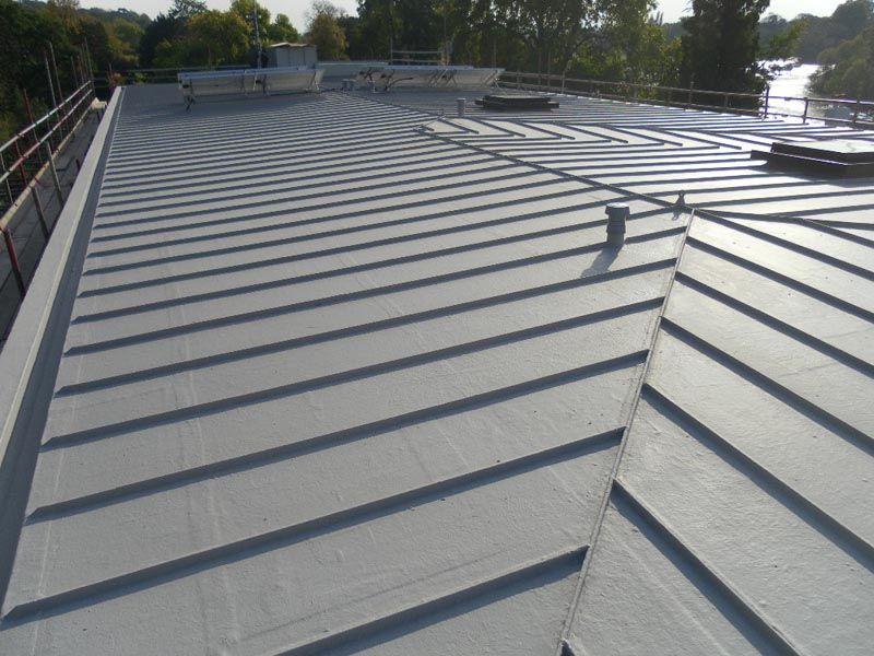 Best Zinc Roof Zinc Roof Brick Architecture Flat Roof 640 x 480