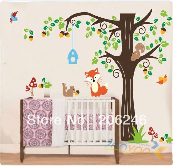 Free-Shipping-ZooYoo-Original-Large-Size150-135-cm-ZooYoo-Forest-Animals-font-b-Wall-b-font.jpg (553×528)