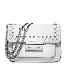 562d154f3b MICHAEL Michael Kors Small Sloan Jeweled Shoulder Flap Bag