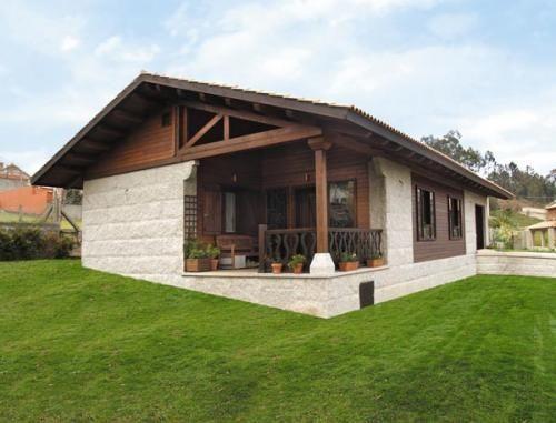 Casas mixtas de madera y metalicas casa de madera - Estanterias metalicas para casa ...