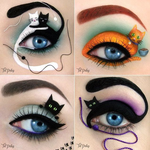 Eyeshadow Portraits Are A Trend- See This Makeup Artist's Eye ...