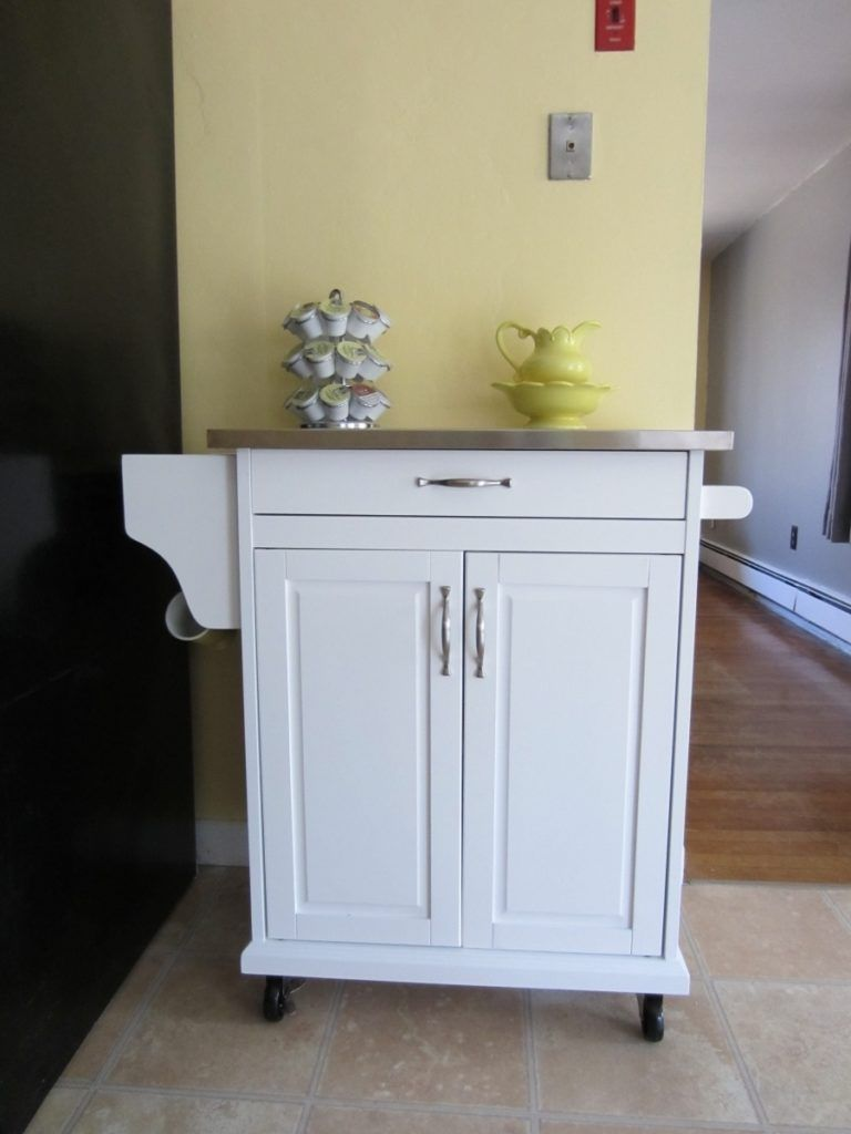 Small Kitchen Island On Wheels. Kitchen Island Metal Rolling Cart ...