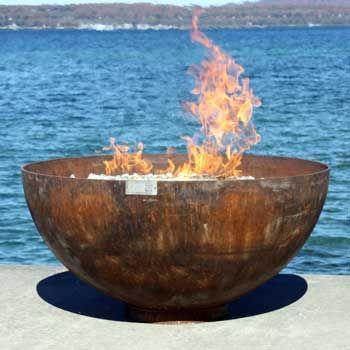 The Big Bowl O Zen 37 Inch Firebowl Garden Feuer