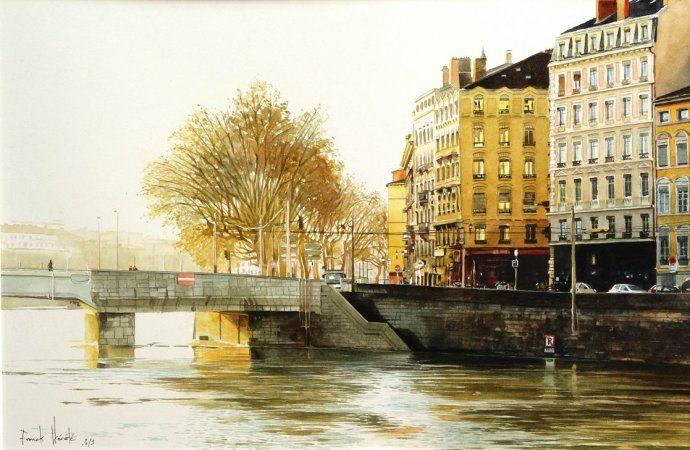 watercolor by Franck Hérété