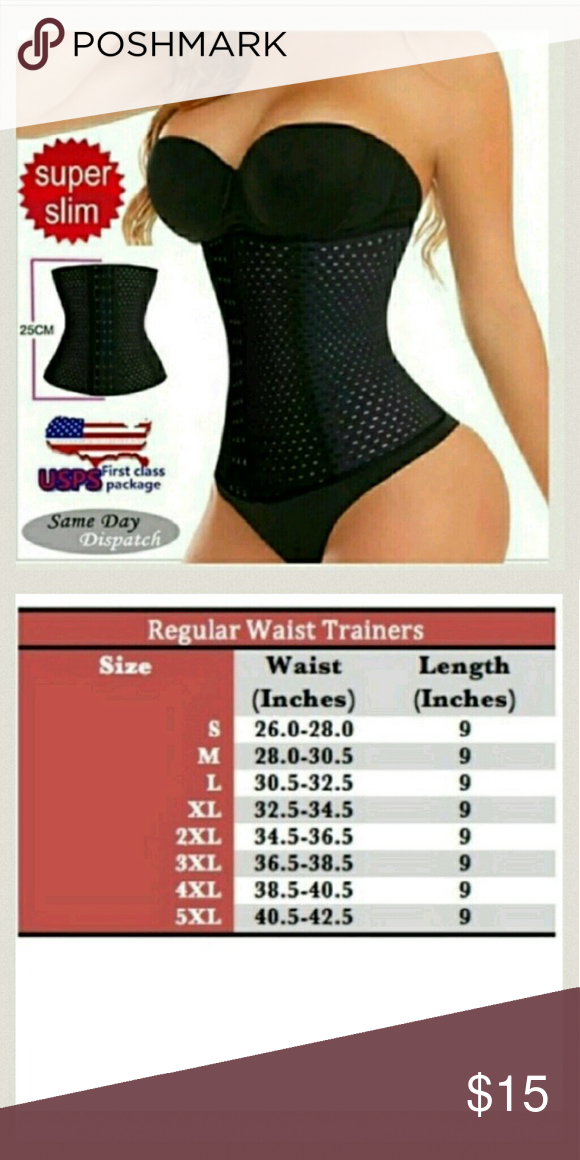 67698dc238 Top Quality!! 4 Spiral Steel Boned Waist Training Top Quality!! 4 ...