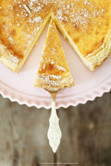 Schmandkuchen Mit Zimt Oder Kompott Oh Sweet Sweet Memories Zucker Zimt Und Liebe Schmandkuchen Kuchen Und Torten Lecker Backen