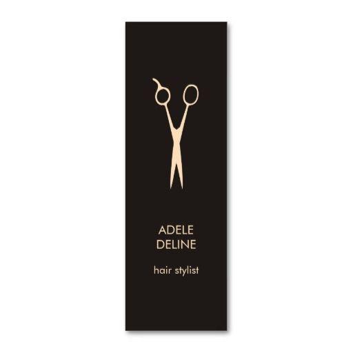 carte de visite coiffure Carte De Visite Mini Coiffeur élégant minimaliste | Zazzle.ca
