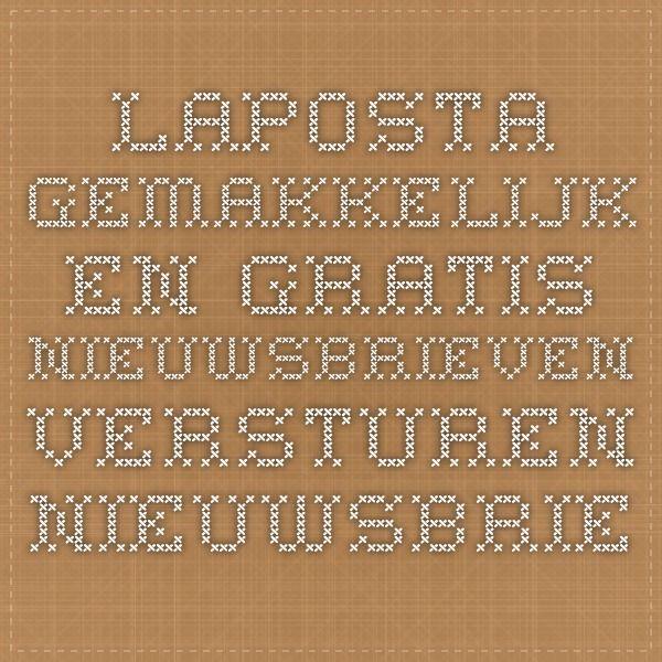 Laposta - Gemakkelijk en gratis nieuwsbrieven versturen - Nieuwsbrief maken