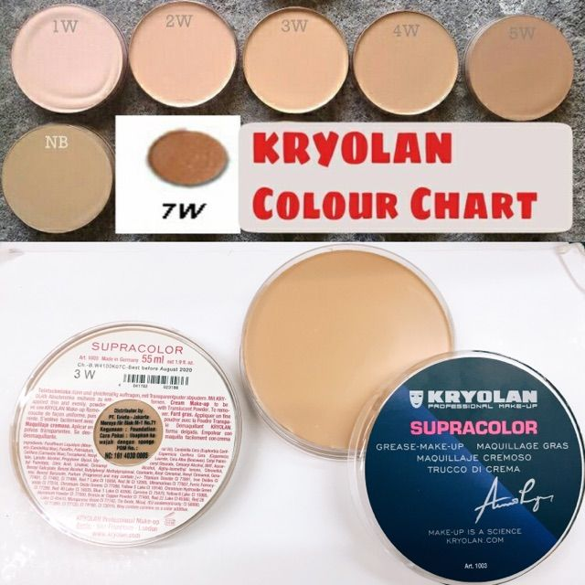 Pin By Morgana On Kryolan Kryolan Foundation Makeup How To Make