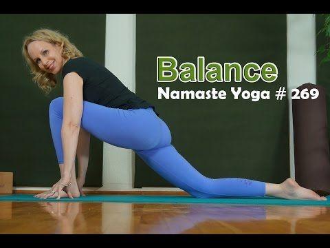 namaste yoga 269 beginner yoga balance  yoga for