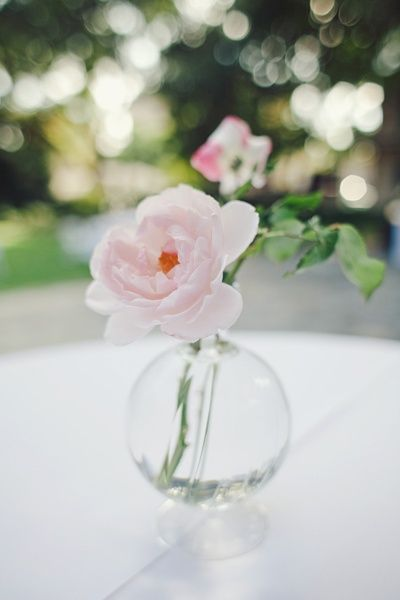 Bud Vases Wedding Pink Wedding Details Sweet Bud Vase The