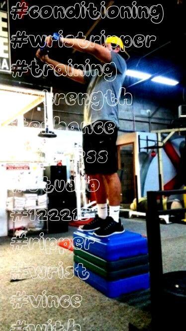 #conditioning #wristripper #training #strength #enhance #fitness #studio #122215 #ripper #wrist #vin...