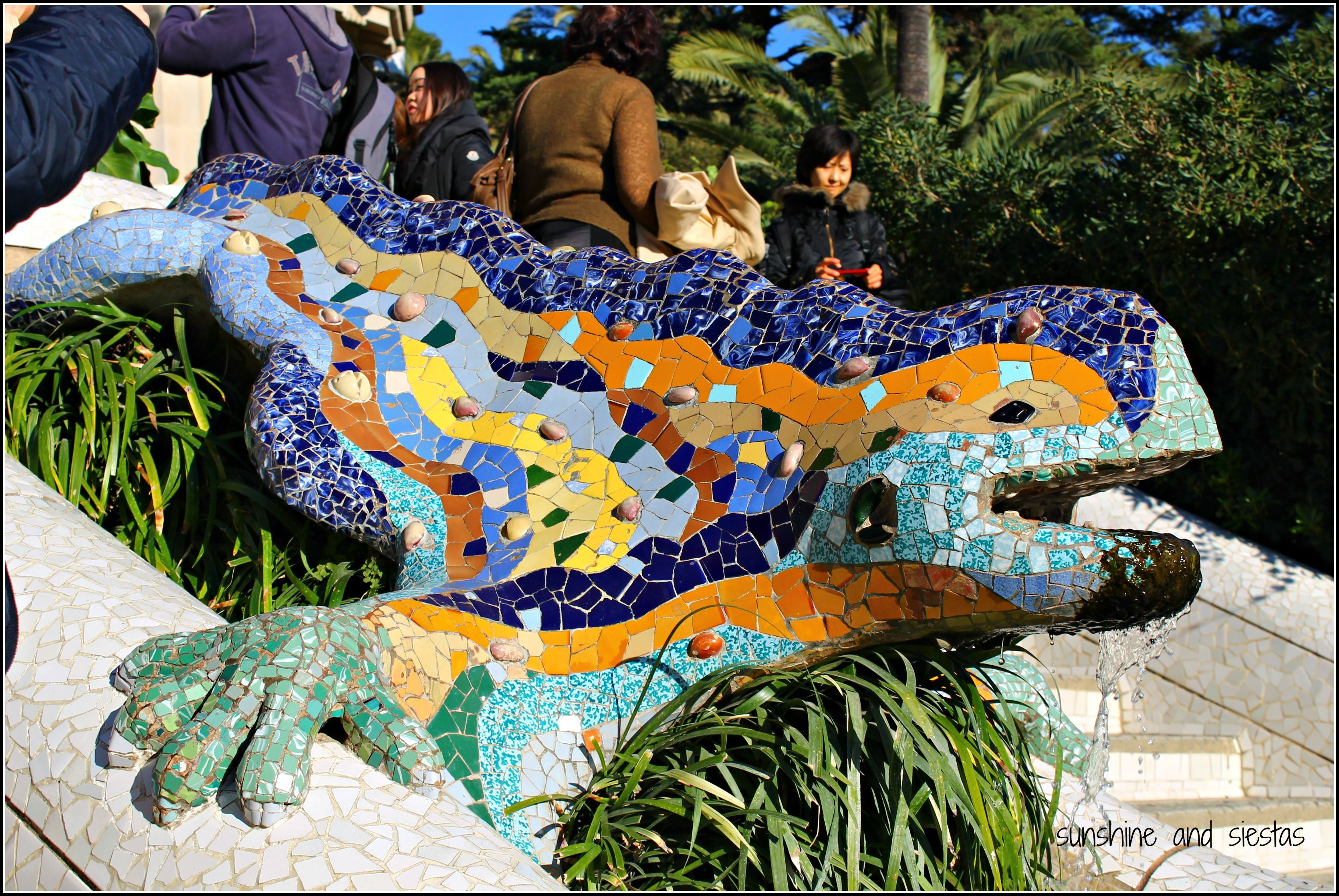 Places with Encanto: Barcelona\'s Parc Guell | Sunshine and Siestas ...