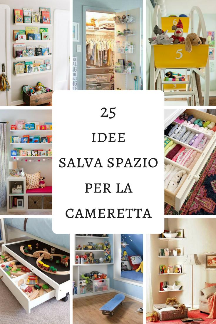 Idee salva-spazio per la camera dei bambini | baby\'s room ...