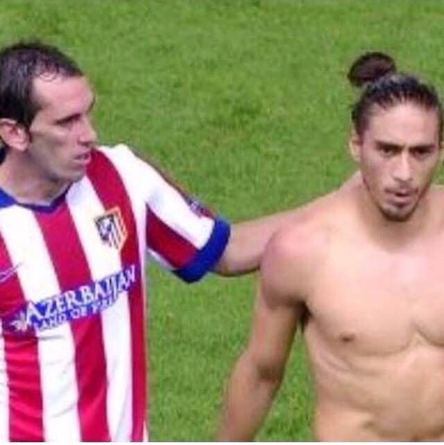 Caceres contra el Aletico de Madrid