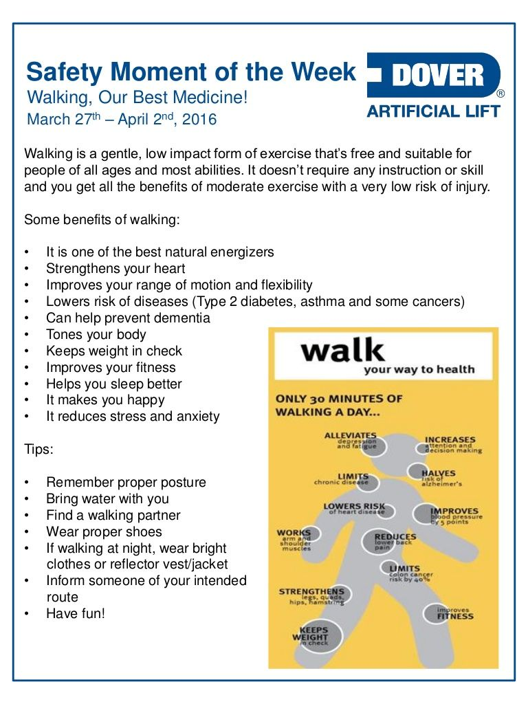 Walking, Our Best Medicine! Alberta Oil Tool's Safety