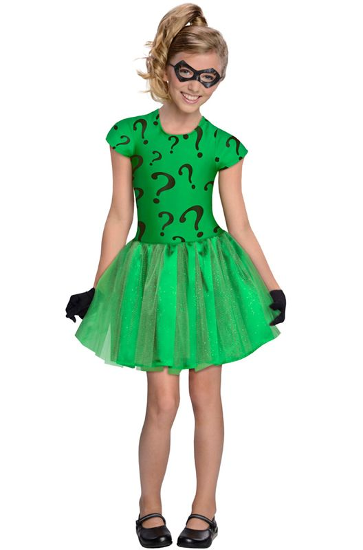 The Riddler Tutu Toddler/Child Costume #batman #superheroes #Halloween # costumes  sc 1 st  Pinterest : batman halloween costume for girls  - Germanpascual.Com
