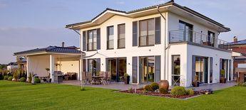 moderne Stadtvilla über 180 qm Wohnfläche massiv bauen in