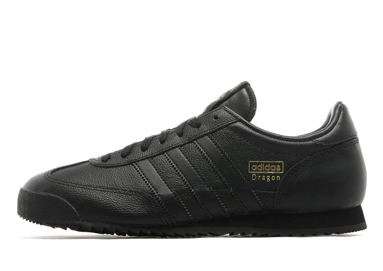 adidas dragon trainers black