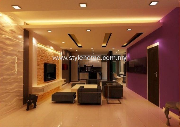 Johor Bahru Jb Malaysia Living Hall Design Interior Design