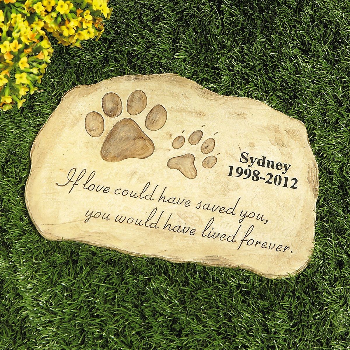 of ideas image garden stones sevilla personalized stone memorial pet encuentro comic