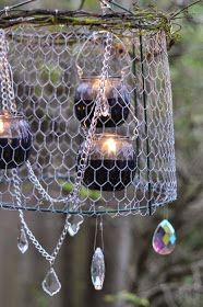 Photo of Shabby in love: Outdoor Chandeliers For Patios
