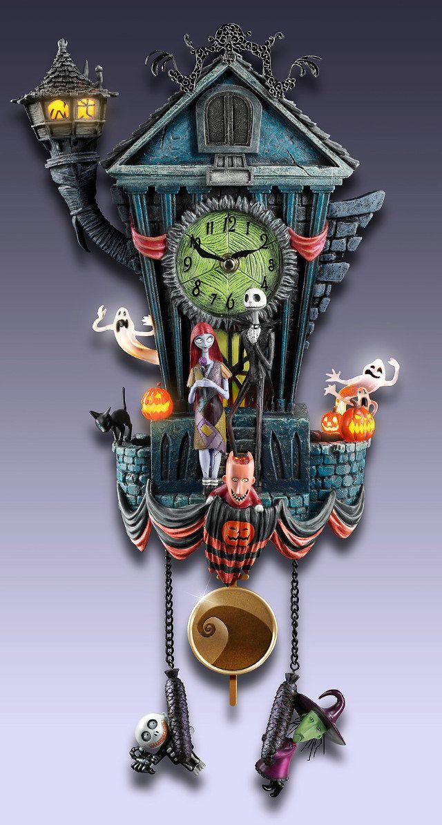 disney tim burton jack skellington magnificent nightmare before christmas cuckoo clock geektyrant
