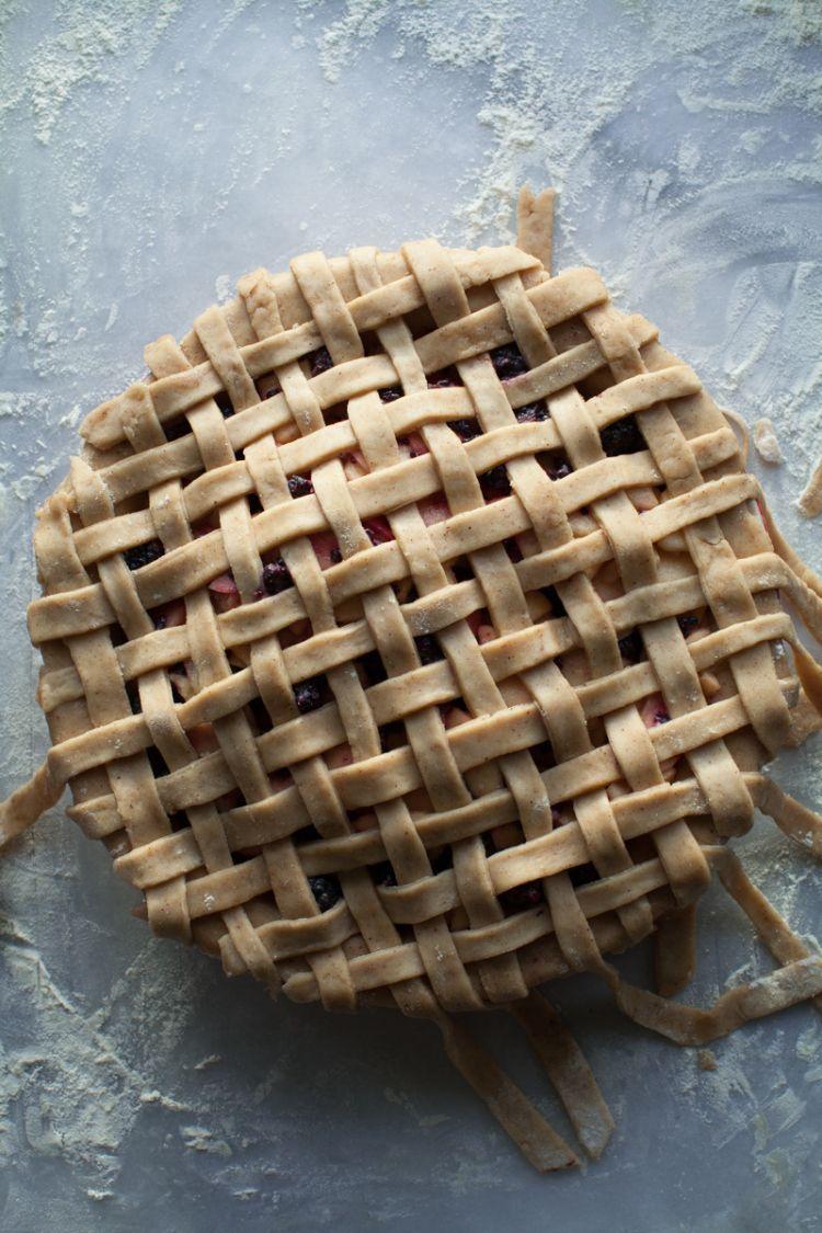 Lemon Fire Brigade // caramel apple blackberry pie