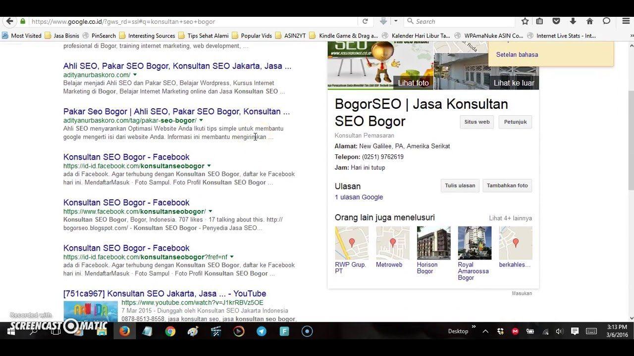 Studi Kasus Trik Seo Jitu Kursus Seo Konsultan Seo 08112208376 Studi Kasus Marketing Tips