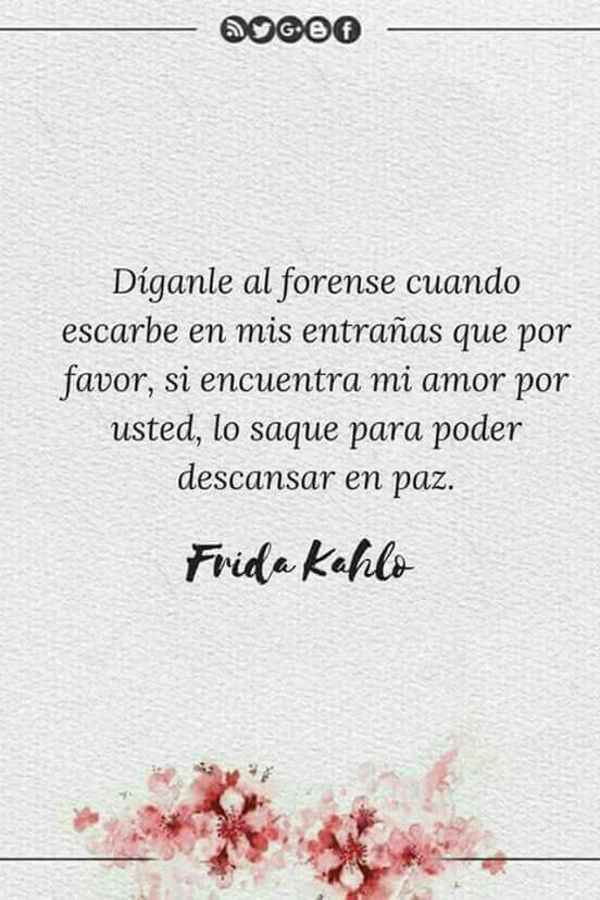 Pin De Jessika Meléndez En Frida Notes Frase De Frida