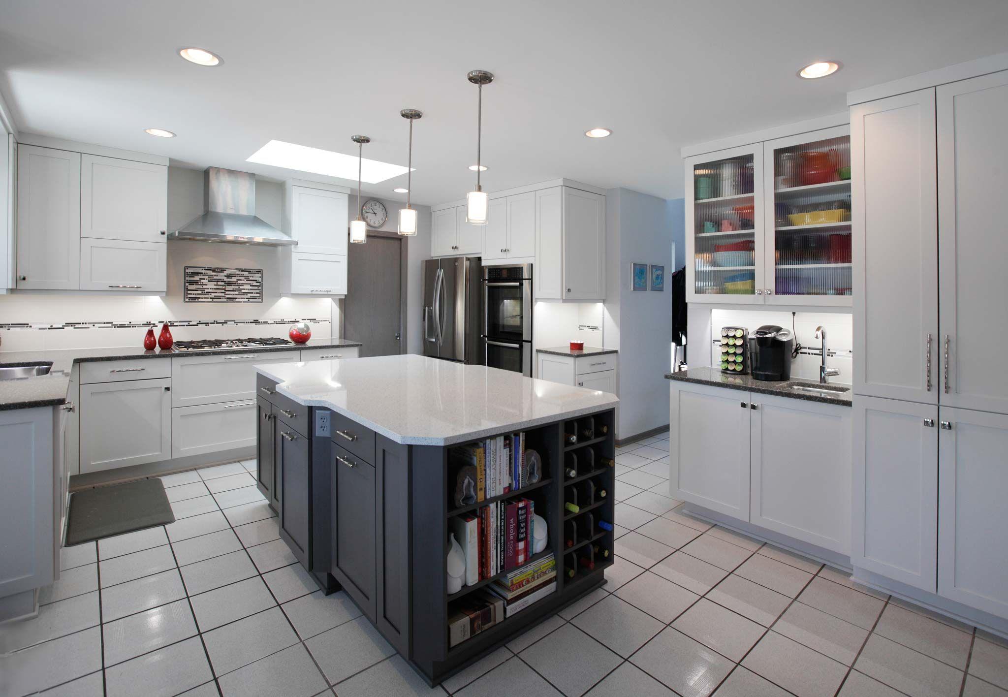 Genial Park Ridge IL Kitchen Design Modern Grey White   LOVE This Bakers Kitchen!!!  #LGLimitlessDesign #Contest