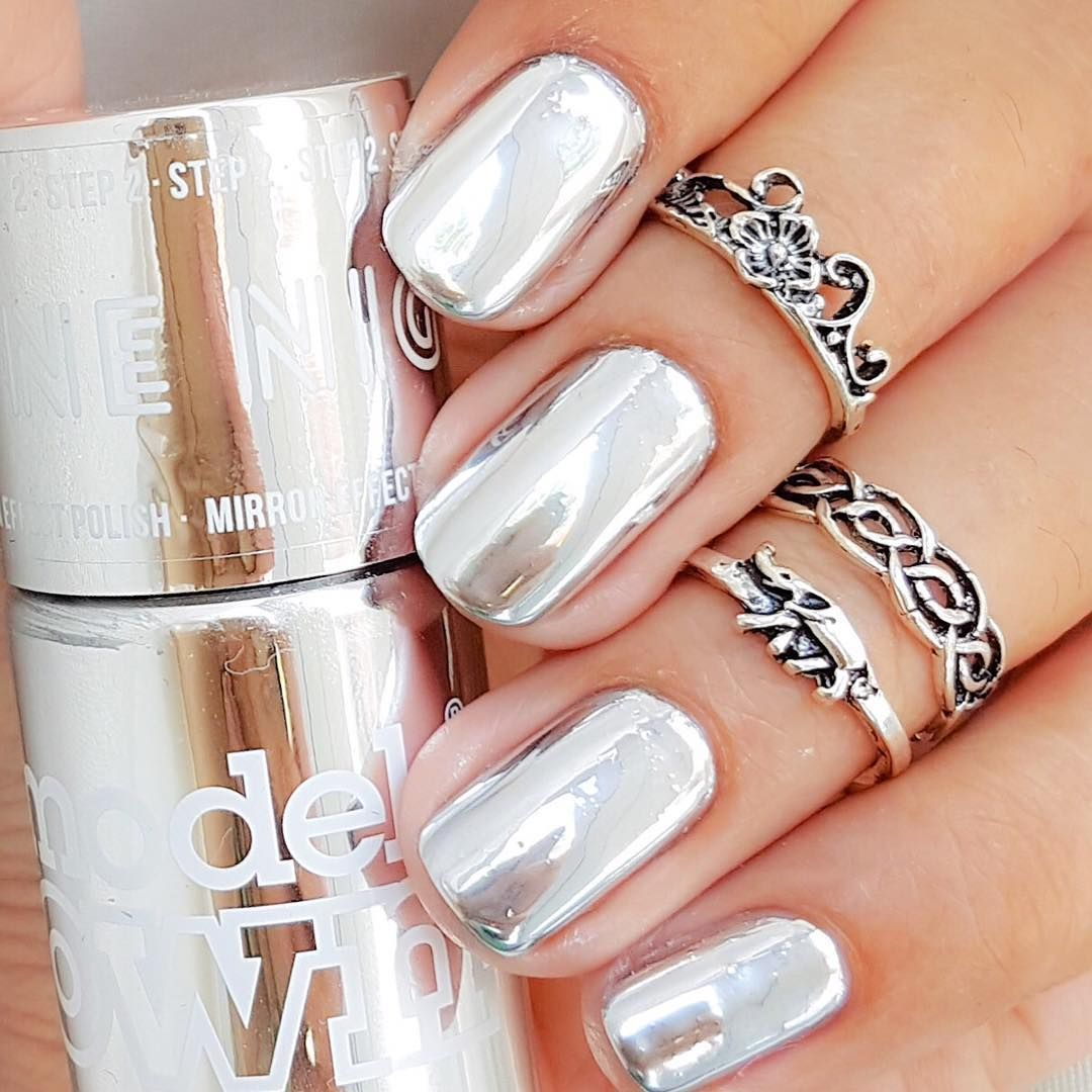 Models Own in Color Chrome Silver