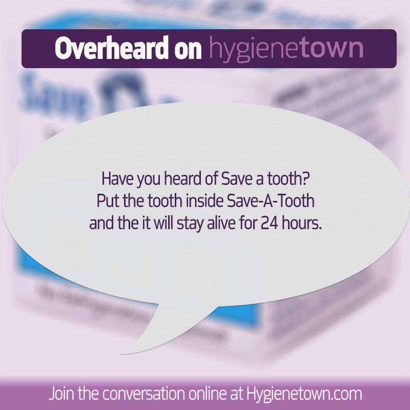 message boards Save a tooth for storing