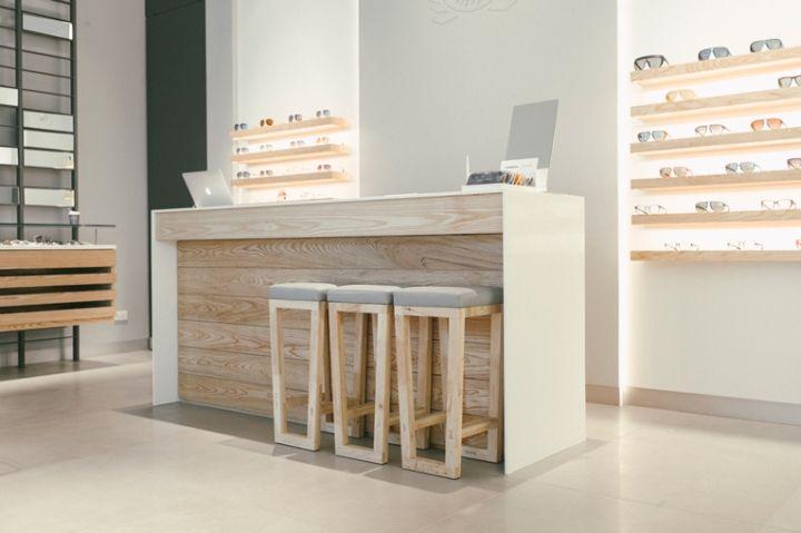 Optical Glasses Interior Design