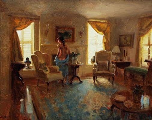 by Красивые Девушки   Google+ Nice painting....