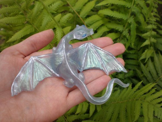 Transluent Handmade Dragon by HeartSculptures on Etsy | Dragons ...