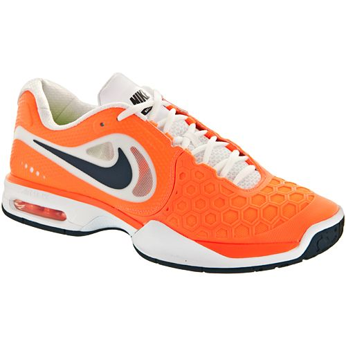 Nike Air Max Courtballistec 4.3: Nike Men's Tennis Shoes Orange ...