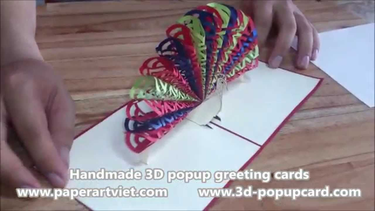 Pop up 3d greeting card paper art viet coltd pop up 3d greeting card paper art viet coltd kristyandbryce Choice Image