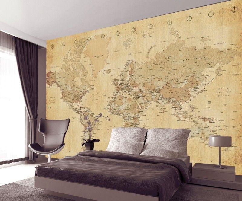 Vintage world map wallpaper wallpaper vintage designs and vintage world map wallpaper gumiabroncs Choice Image