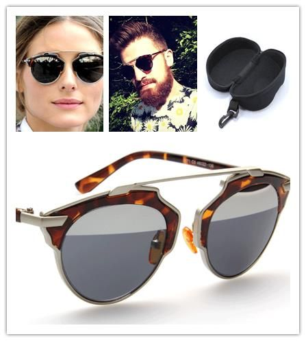 Cat Eye Sunglasses Women Men New 2015  Summer Style Gafas Oculos De Sol Feminino Round Frame Vintage Sun Glasses With Box - http://www.aliexpress.com/item/Cat-Eye-Sunglasses-Women-Men-New-2015-Summer-Style-Gafas-Oculos-De-Sol-Feminino-Round-Frame-Vintage-Sun-Glasses-With-Box/32396832447.html