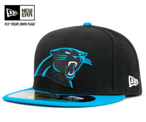 New Era 5950 Carolina Panthers  NFL On Field Game Cap Fitted Black Hat  59fifty from  26.99 18114158a