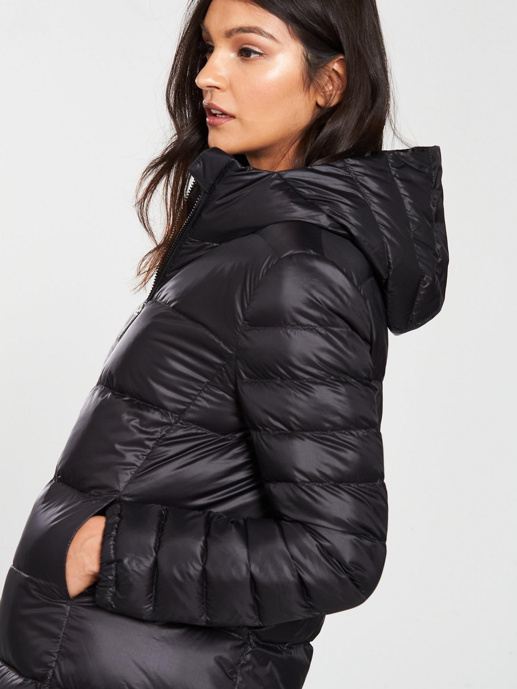 3e6837e6826e BOSS Orealy Long Padded Coat - Black in 2019